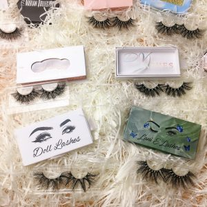 wholesale false eyelash packaging box